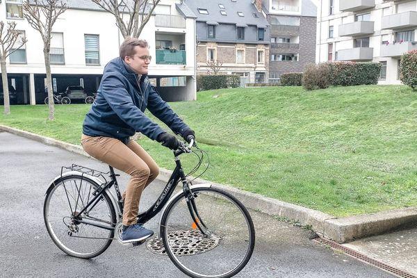 Parmi les actions qu'Augustin souhaite mener pour sensibiliser aux maladies dégénératives de l'oeil : ce tour d'Europe à vélo qu'il entamera début mai