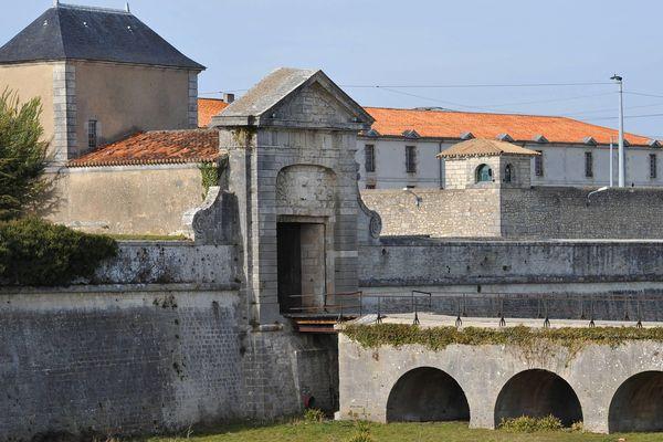 La prison de Saint-Martin-de-Ré (17), en 2010.