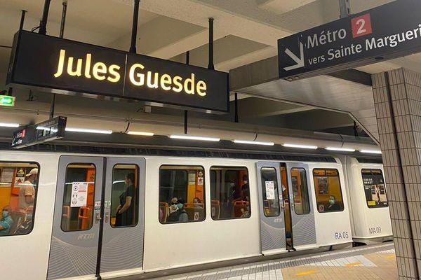 La station de la ligne 2 du métro a rouvert ce ludi après 15 mois de fermeture.