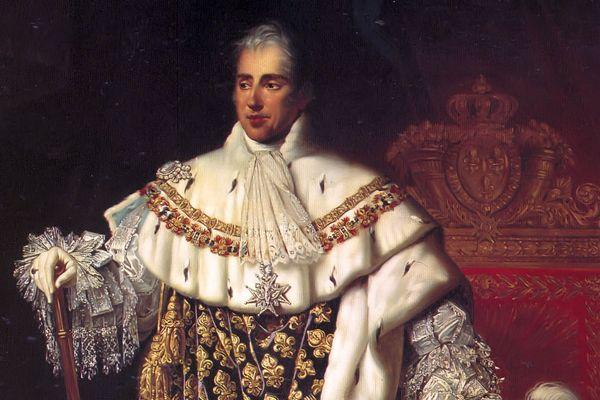 Portrait de Charles X de France, par Robert Lefèvre.