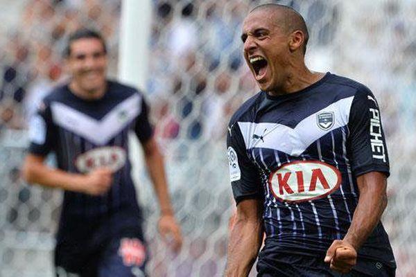 Le joueur des Girondins de Bordeaux, Wahbi Khazri