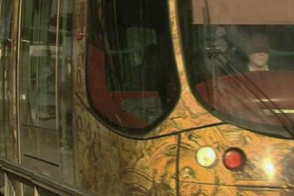 Le tramway de la ligne 4 de Montpellier