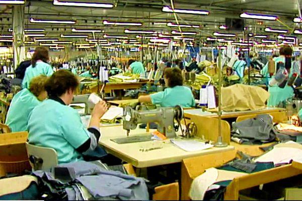 """La """"griffe de l'homme"""" employait 320 personnes à la confection de costumes masculins de luxe."""