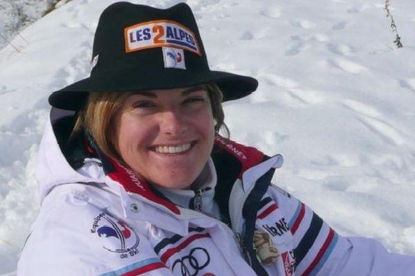 Marion Rolland aux 2 Alpes