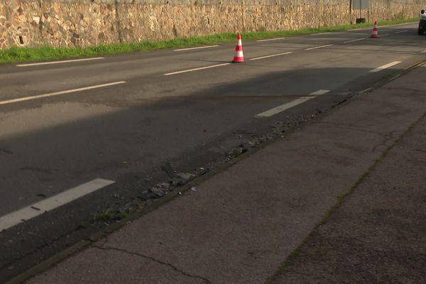 Un accident de la circulation a fait un blessé grave, suite à la collision d'une voiture et d'un poids-lourd, sur la RN21, entre Aixe-sur-Vienne et Limoges.