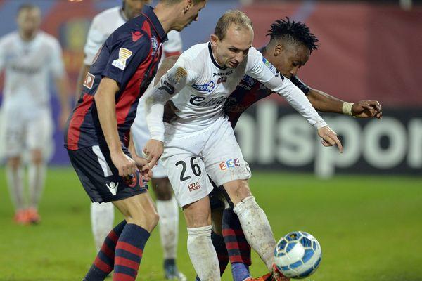 GFCA AJACCIO / GUINGAMP 25/11/15, Coupe de la Ligue, GFCA Ajaccio / Guingamp.