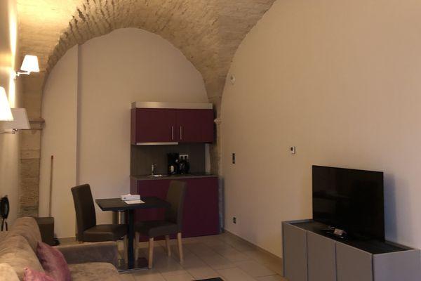 Vue des appartements