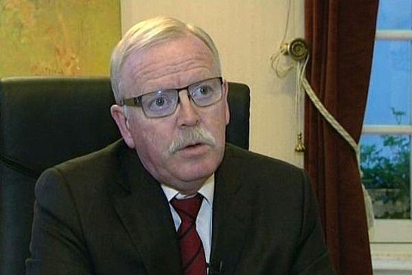 Jean-Yves Caullet, président de l'ONF et député-maire PS d'Avallon dans l'Yonne