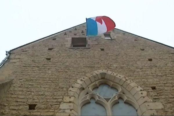 La chapelle Saint-Sylvain à Nevers, appelée la Chapelle aux Arts a répondu à l'appel du Président de la République