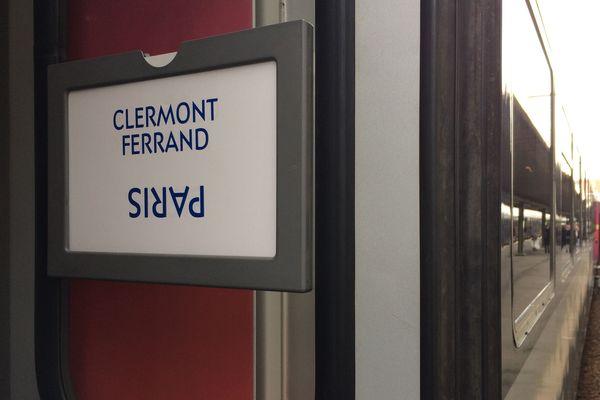 Une fois encore, un train parti de Clermont-Ferrand a rencontré de multiples difficultés pour rejoindre Paris.