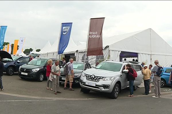 Tous les concessionnaires automobiles de l'agglomération sont présents à la foire du Mans