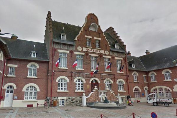 La mairie de Biache-Saint-Vaast.