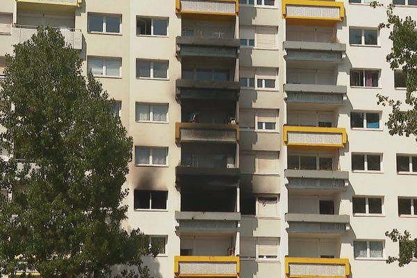 Immeuble du quartier de l'Arlequin à la Villeneuve à Grenoble