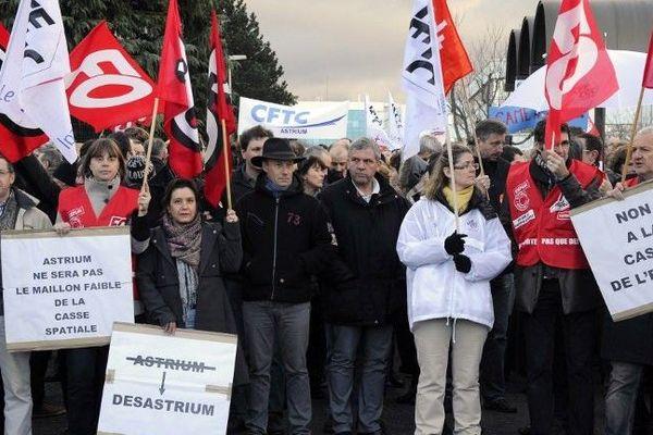 Manifestation le 20 décembre 2013 à Toulouse.
