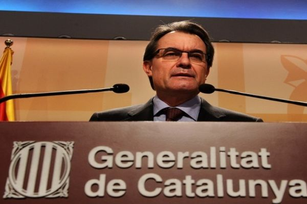Artur Mas - Président de la Generalitat de Catalogne - janvier 2013.