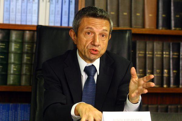 Le procureur de la République de Perpignan Achille Kiriakidès
