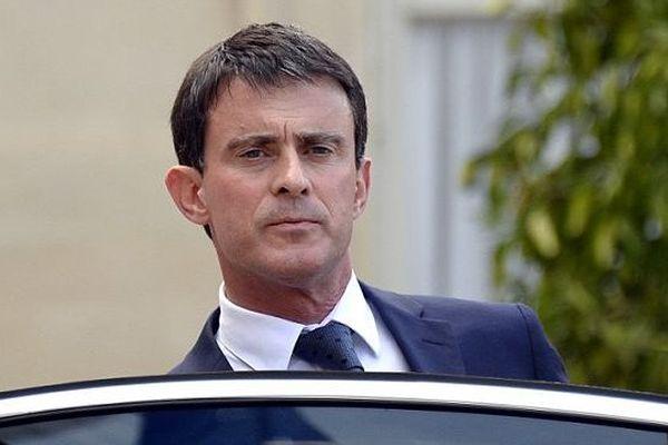 Manuel Valls, Premier ministre, à Paris en juillet 2014