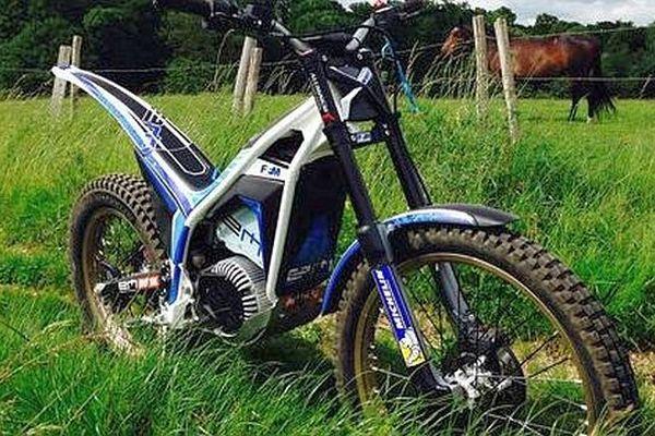 Une moto électrique produite par Electric Motion à Castries - illustration