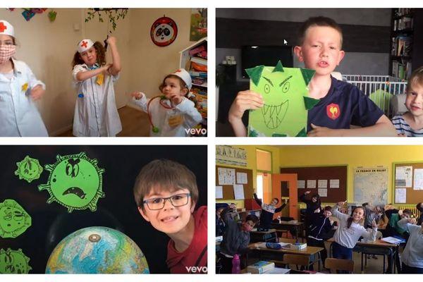 Des centaines d'enfants ont participé au clip d'Aldebert