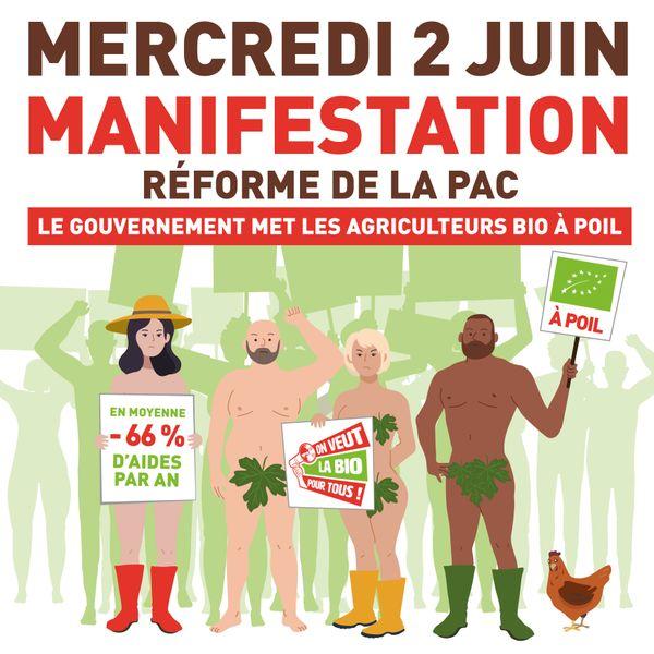 """La nouvelle Pac mettrait les agriculteurs et agricultrices biologiques """"à poil""""."""