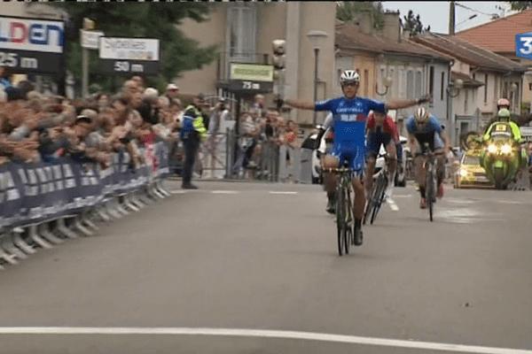 L'Italien Vincenzo Albanese s'est imposé sur la première étape du tour de l'Avenir, samedi 20 août.