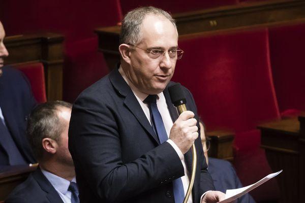 Pierre Vatin, député Les Républicains de l'Oise à l'Assemblée. ARCHIVES
