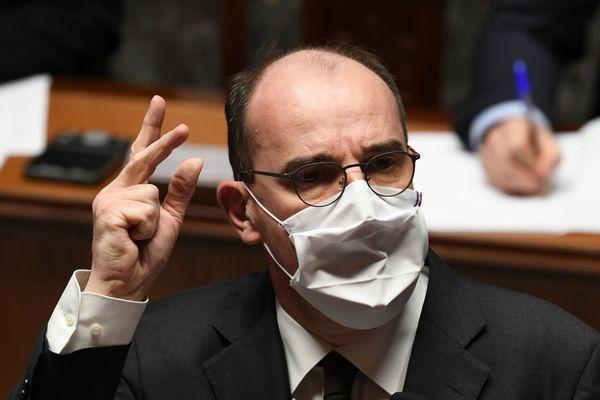 Jean Castex, le Premier Ministre, à l'Assemblée nationale - 01/12/2020
