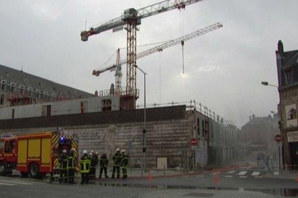 Une fuite de gaz rue de Blamont à Amiens