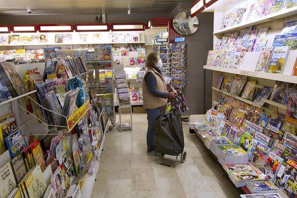 Seuls les magazines d'avril sont encore en kiosque.