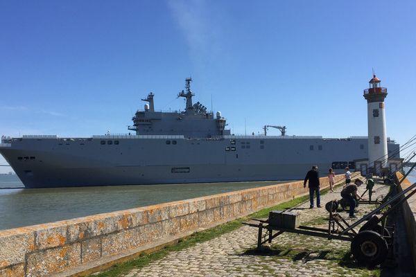 La Sebastopol est reparti pour une deuxième série d'essais en mer
