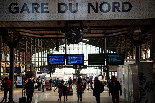 Les quais de la gare du Nord de Paris, en avril 2018 (image d'illustration).