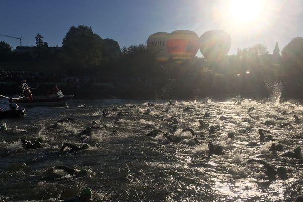 Iron2men: 3,8 km de nage...tout baigne!