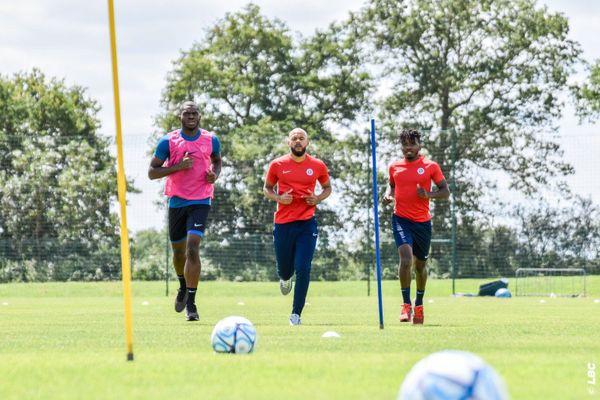 Les joueurs de la Berrichonne de Châteauroux ont repris l'entraînement.