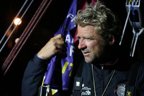 Yann Eliés réalise un triplé en remportant la Solitaire du Figaro 2015