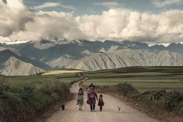 Route de Maras, Maras, Pérou, avril 2014. © Juan Manuel Castro Prieto / Agence VU'