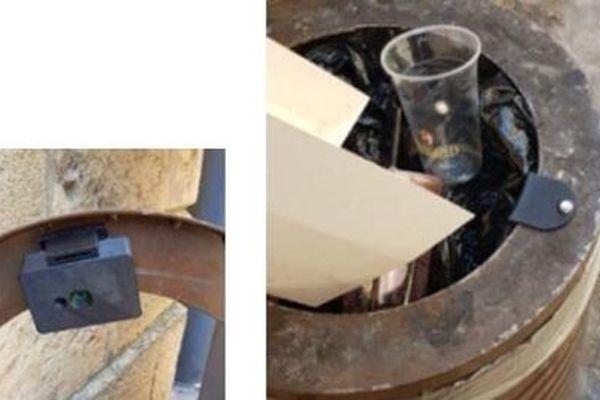 Des capteurs sont installés dans les poubelles publiques pour savoir si elles sont pleines ou vides, fermées ou ouvertes