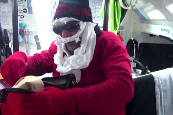 Le Père Noël du Vendée Globe