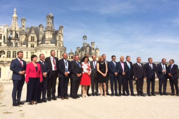 Sommet européen des ministres de l'agriculture - Chambord (Loir-et-Cher) - 2 septembre 2016