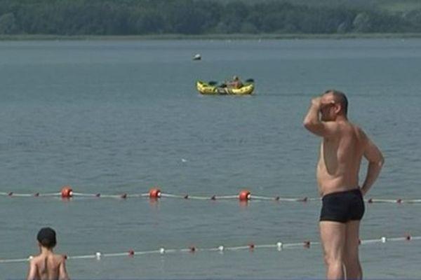 Le site du lac de Madine offre de nombreuses activités sportives et de loisirs, ou tout simplement de farniente.