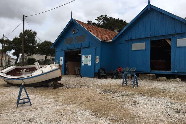 Atelier de l'association Les Lasses Marennaises (Bourcefranc-Le-Chapus)