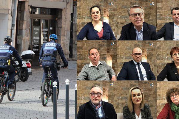 Pour ou contre l'armement des policiers municipaux à Besançon ? Les candidats aux élections municipales répondent.
