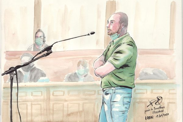 Le demi-frère de Jonathan Maréchal a témoigné devant la cour d'assises.