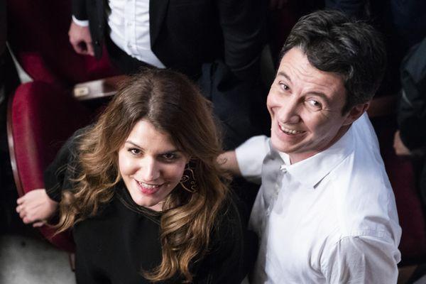 Marlène Schiappa candidate à la mairie du 14e arrondissement à Paris, sur la liste de Benjamin Griveaux