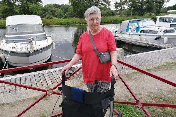 Tatie Michèle se lancera le 13 septembre prochain pour la 2ème étape étape de sa marche le long du canal de Nantes à Brest.