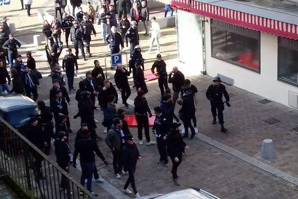 Les incidents ont eu lieu en début d'après-midi à Sedan. Un affrontement entre supporters.
