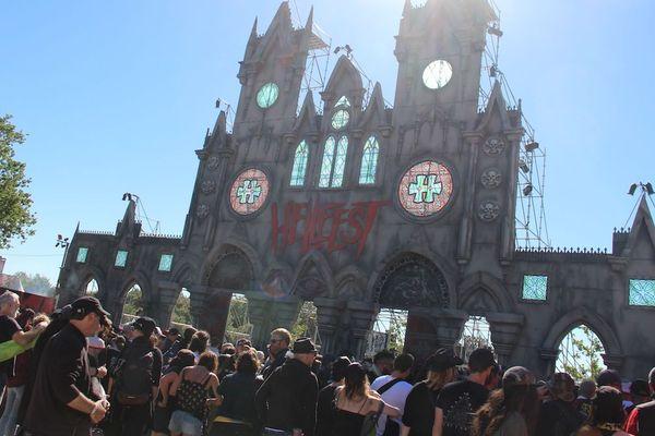 La cathédrale du Hellfest, là où tout commence et finit