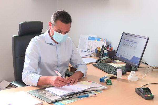 Teddy Bourdet, médecin responsable de MG France en Pays de la Loire