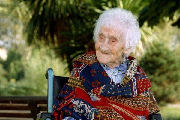 Jeanne Calment, le 17 octobre 1995