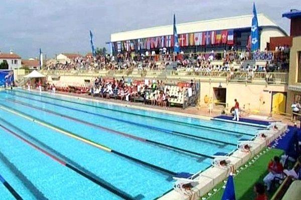 Canet-en-Roussillon (Pyrénées-Orientales) - le centre aquatique Arlette Franco accueille le meeting Mare Nostrum - 15 juin 2013.