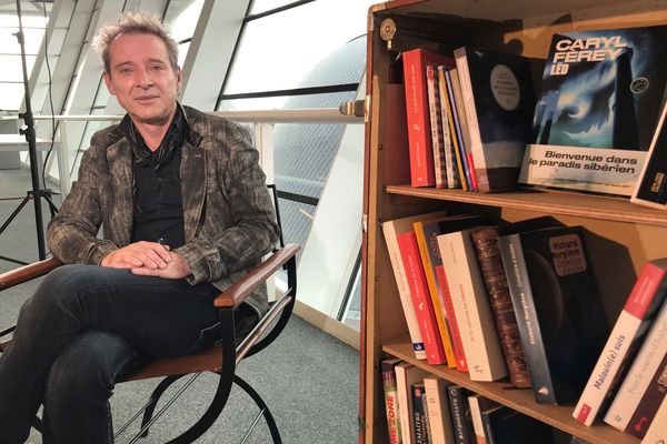Caryl Férey, la grande plume du polar, invité de la Bibliothèque vagabonde